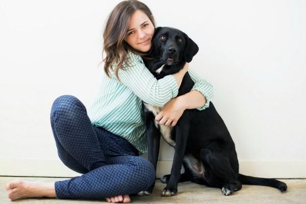 abbraccio cane