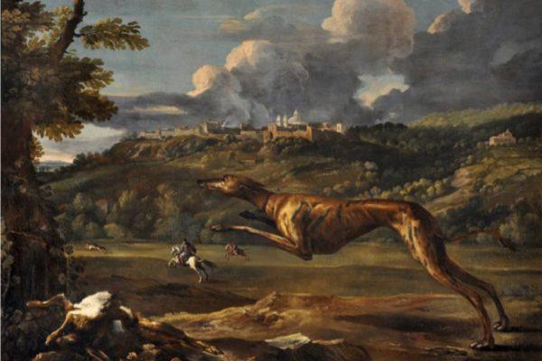 mostra cani nella storia dell'arte