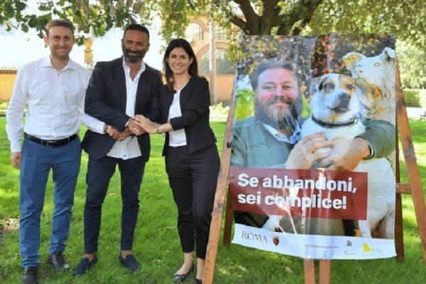 campagna abbandono cani roma