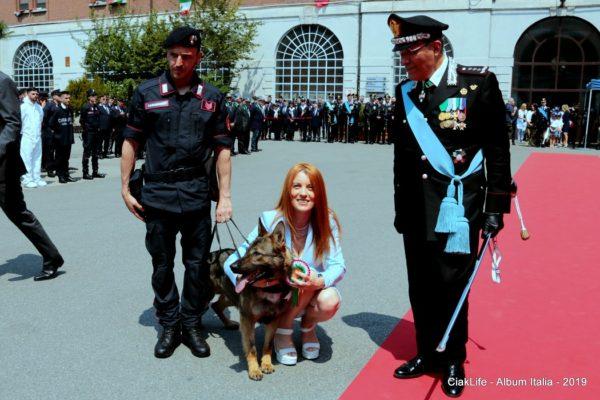 cane carabinieri brambilla