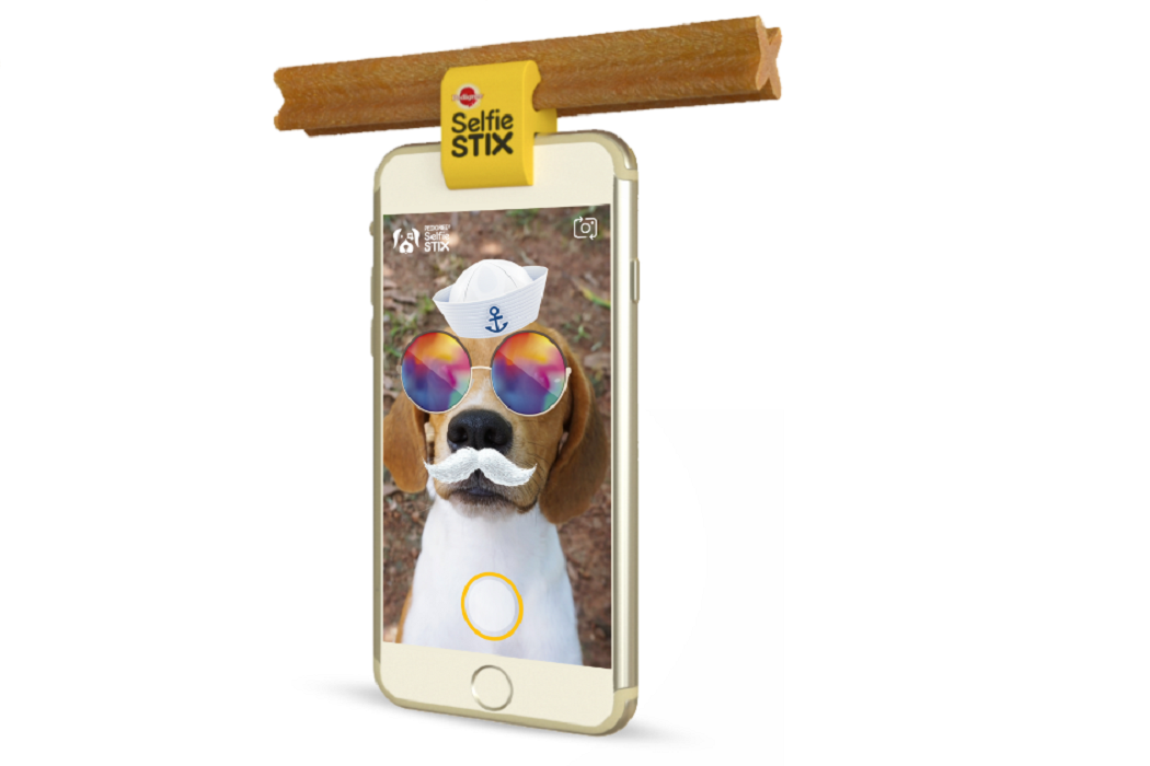 selfie stick cani